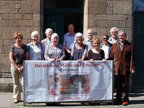Heritage Trust Volunteers Show Off Their New Exhibition